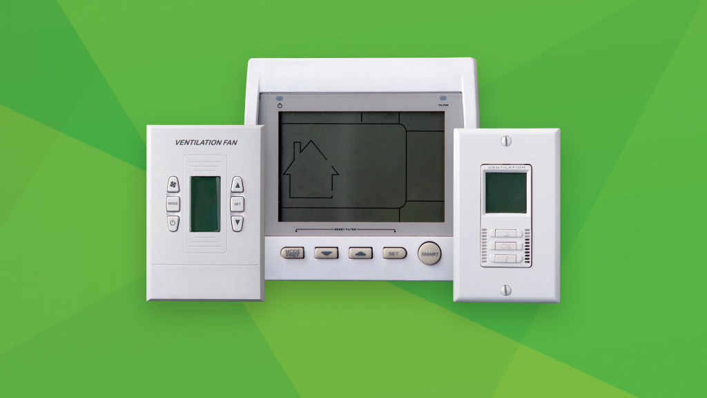 I just moved into a new house and it has a heat recovery ventilator. How do I use it?