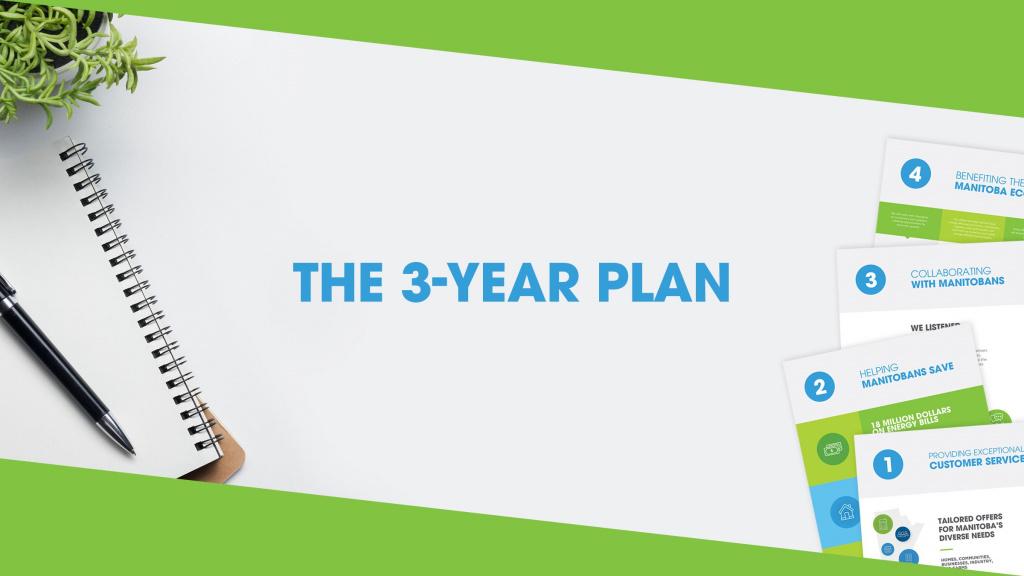 Efficiency Manitoba's Three-Year Energy Efficiency Plan